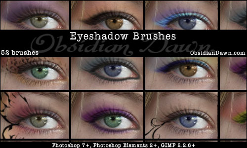 how to add eye shadow in photoshop