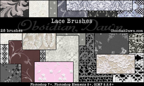 Lace Brushes