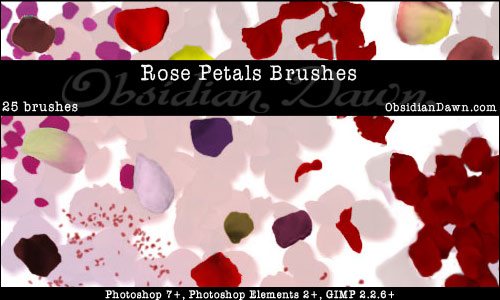 Rose Petals Brushes