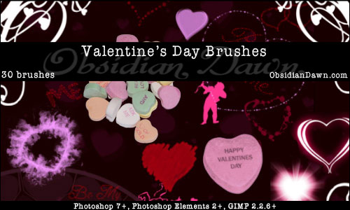 Includes: various Valentine's Day sayings (Be Mine, Be My Valentine,