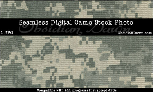 Digital Camouflage Stock Image