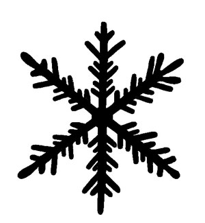 the snowflake shapes from