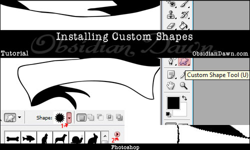 Installing Shapes Tutorial