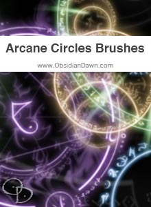 Arcane Circles Brushes
