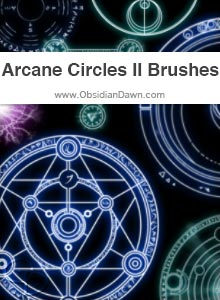 Arcane Circles II Brushes