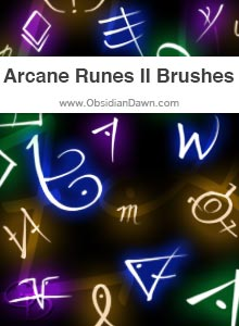 Arcane Runes II Brushes