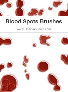 Blood Spots Brushes