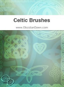 Celtic Knotwork Vectors Brushes