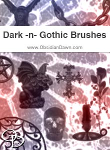Dark -n- Gothic Brushes