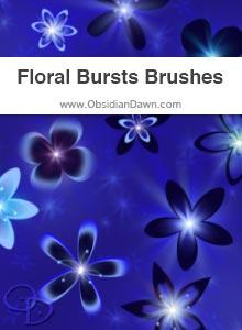 Floral Bursts Brushes
