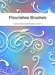 Flourishes Brushes
