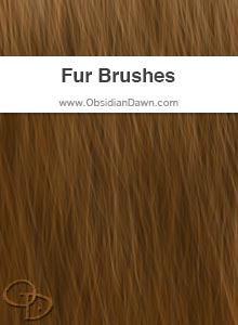 Fur Painting Brushes