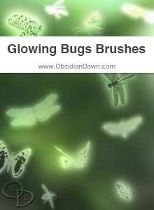 Glowing Bugs Brushes