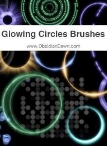 Glowing Circles Brushes