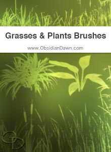 Grasses & Plants Brushes