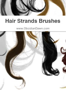 Hair Strands Brushes