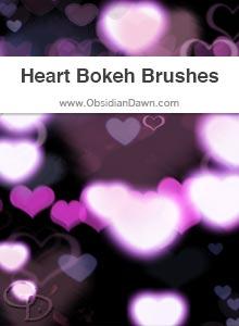 Heart Bokeh Brushes