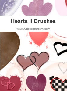 Hearts II Brushes