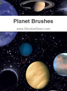 Planets Brushes