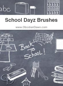 School Dayz Brushes