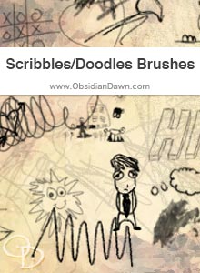 Scribbles & Doodles Brushes