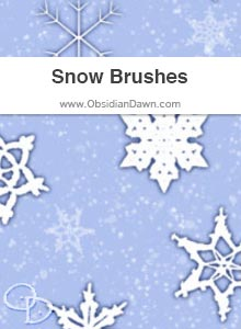 Snow & Snowflakes Brushes