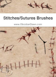 Stitches & Sutures Brushes
