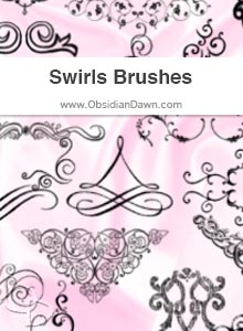 Swirls & Flourishes Brushes