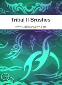 Tribal II Brushes