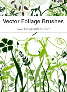 Vector Foliage Brushes
