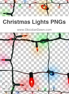 Christmas Lights PNGs