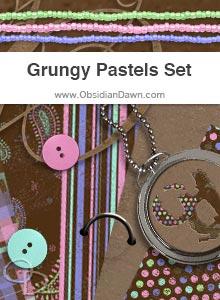 Grungy Pastels Set