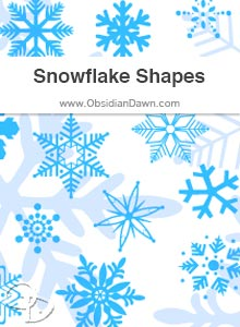 Snowflakes Shapes