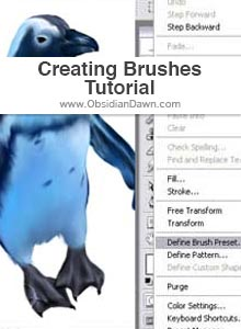 Creating Photoshop Brushes