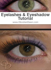 Realistic Eyelashes and Eyeshadow Tutorial