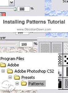Installing & Using Patterns Tutorial