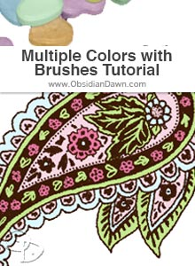 Multiple Colors with Brushes Tutorial