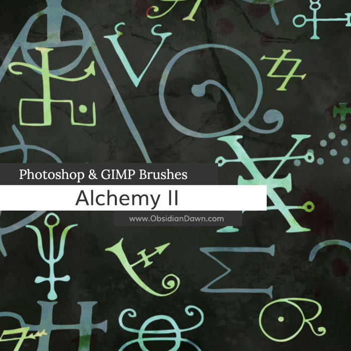 Alchemy II Vectors Brushes