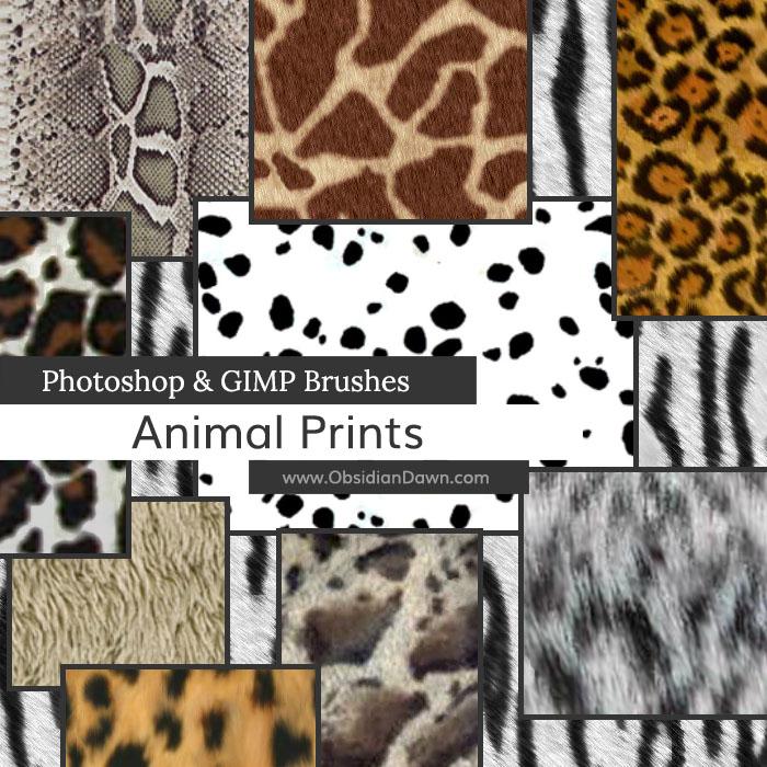 Animal Prints Brushes