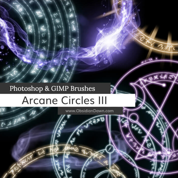 Arcane Circles III Brushes