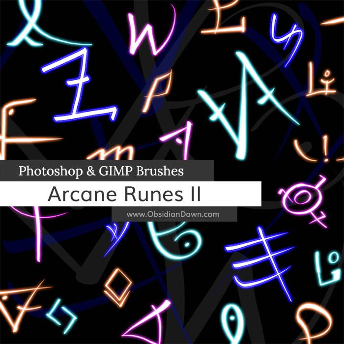 Arcane Runes II Brushes
