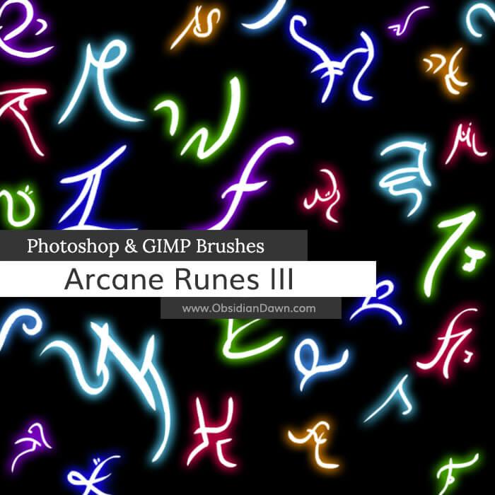 Arcane Runes III Brushes