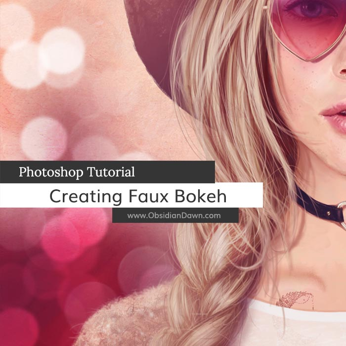 Creating Faux Bokeh in Photoshop Tutorial
