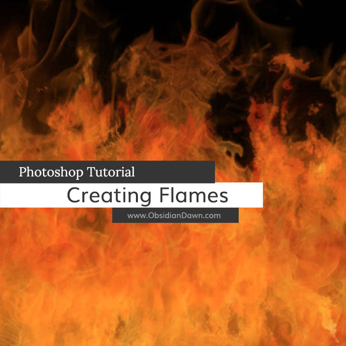 Creating Realistic Flames In Photoshop Tutorial