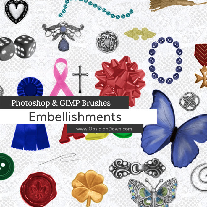 Embellishments Brushes