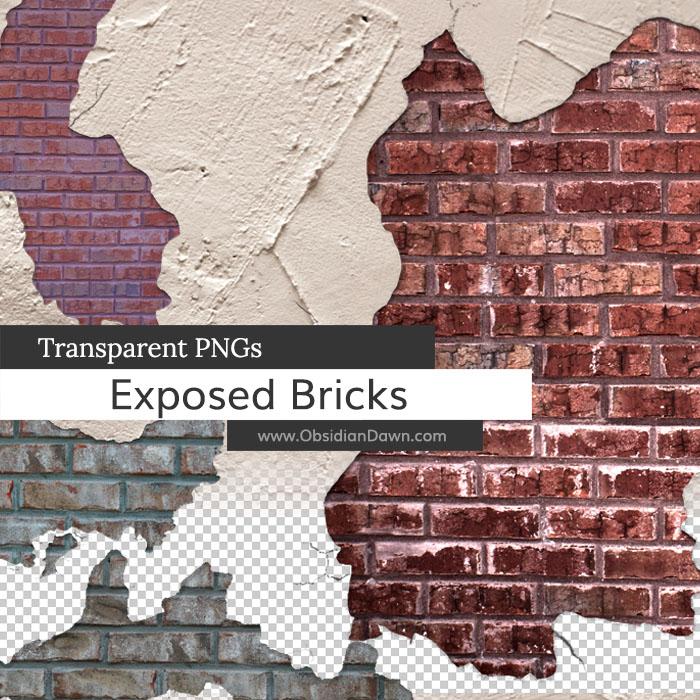 Exposed Brick PNGs