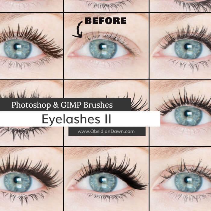Eyelashes II Brushes