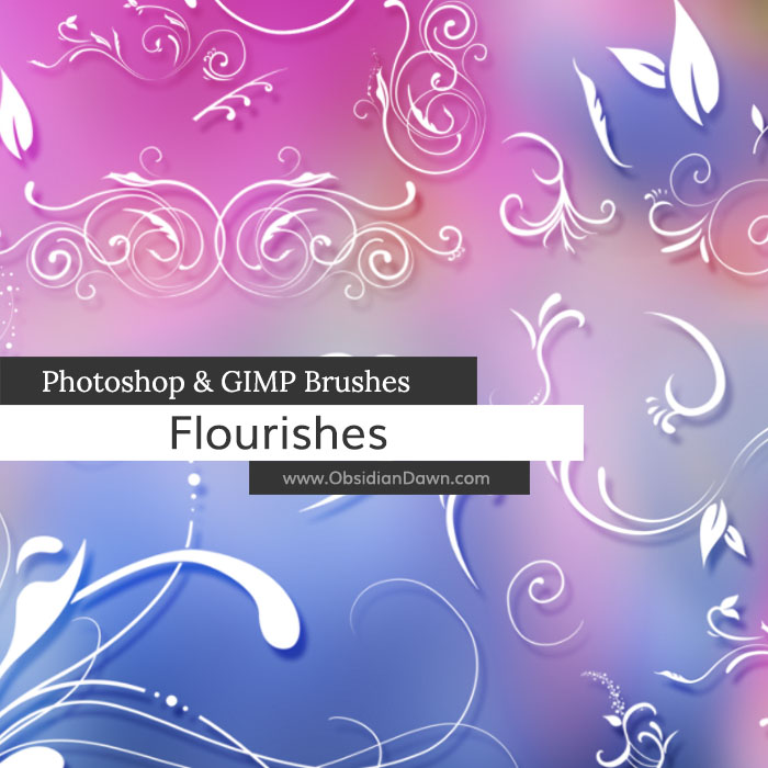 Flourishes Brushes