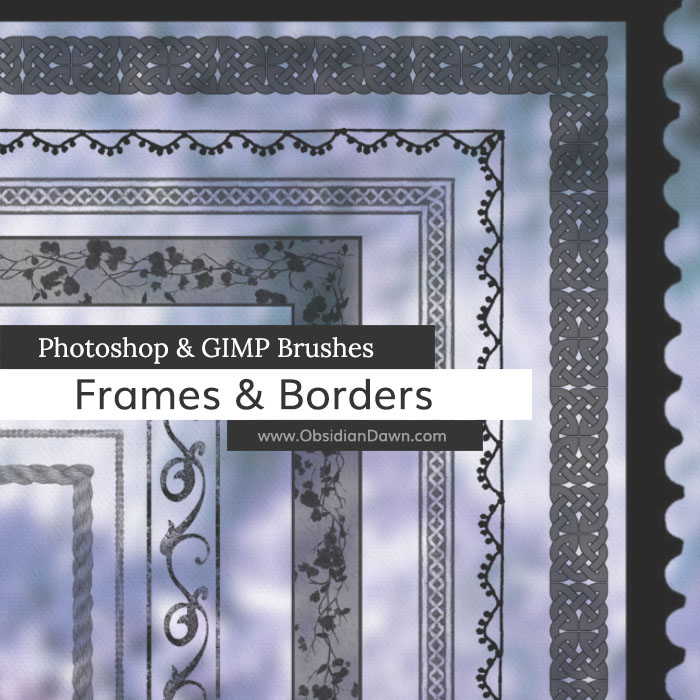 Frames & Borders Brushes