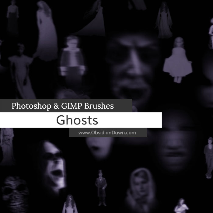 Ghosts Brushes